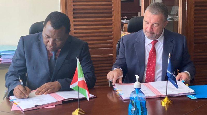 Accord de financement du projet de restauration et de résilience du paysage du Burundi (PPPB) ; financement additionnel du FEM (FA-FEM)